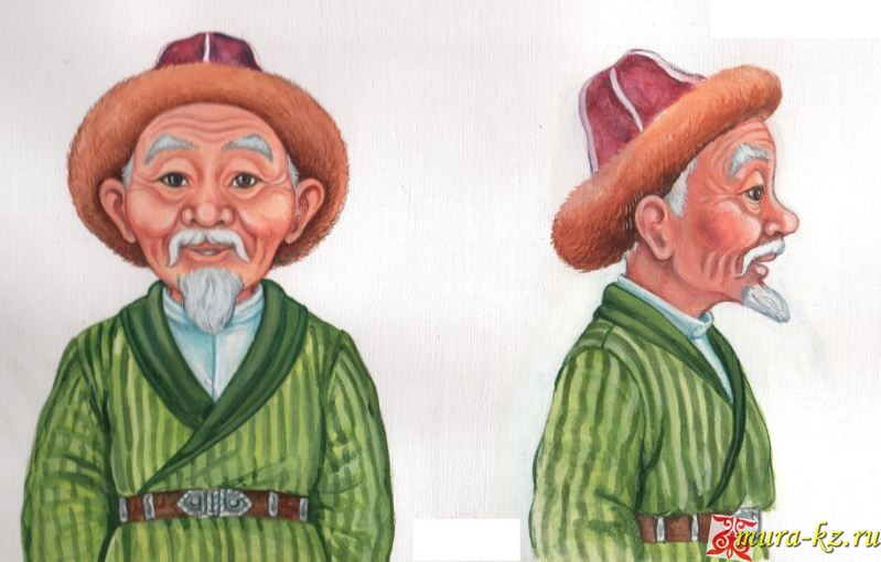 Ертегі: Қаңбақ шал (сказки на казахском языке)