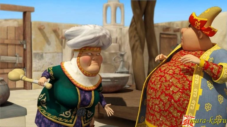 Ер-Тостик (казахская народная сказка на русском языке)