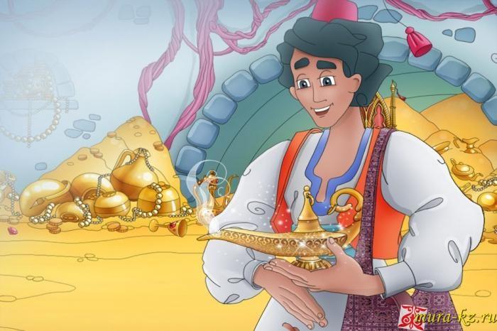 Аладдиннің сиқырлы шамы - Аладдин и волшебная лампа (Арабская народная сказка)
