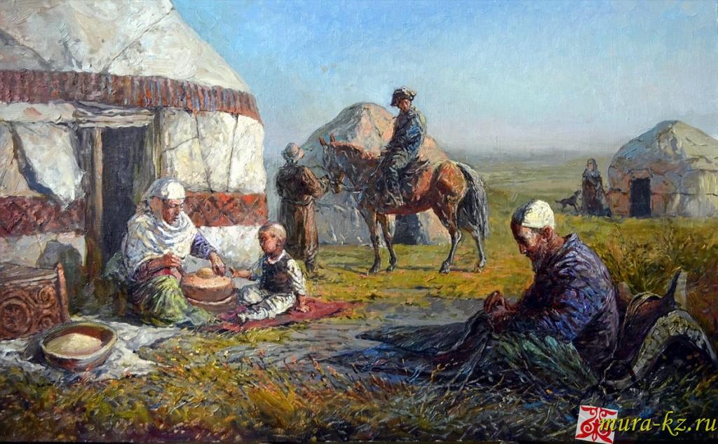 Ертегі: Қарттың ұлына өсиеті (сказки на казахском языке)