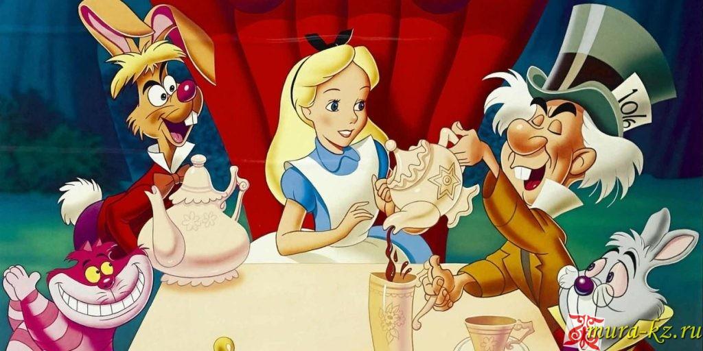 Алиса ғажайыптар елінде - Алиса в стране чудес (сказка на казахском языке)