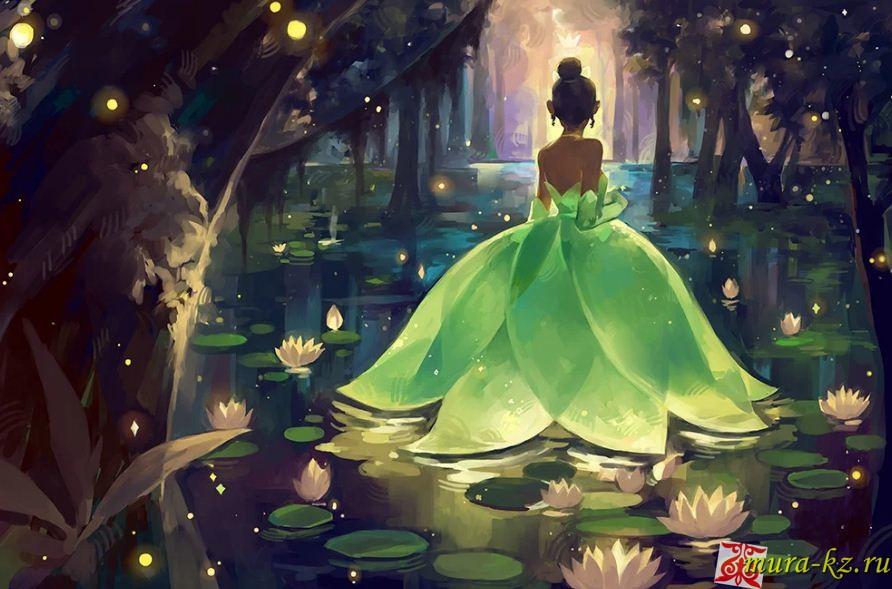 Ертегі: Бақа Ханшайым – Принцесса-Лягушка