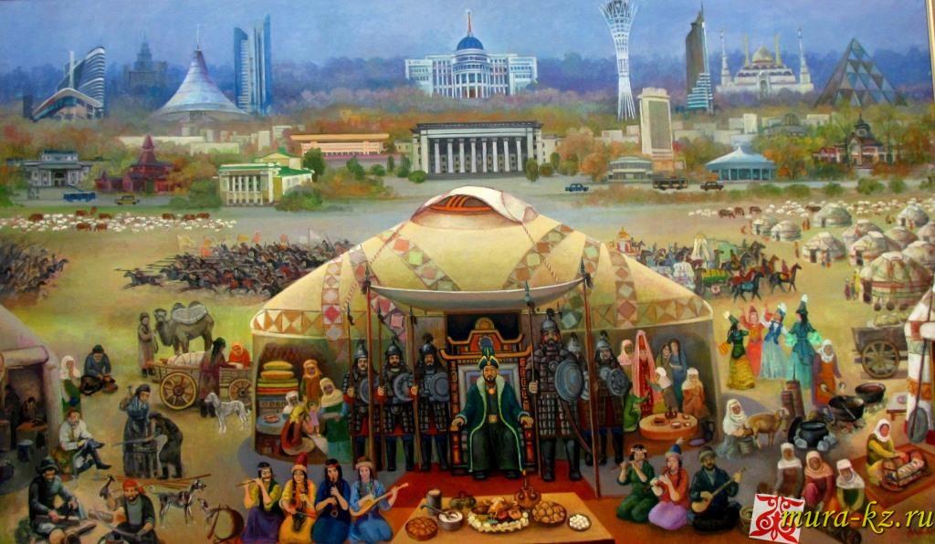 Ғылманның өнері - Искусство науки (сказки на казахском языке)