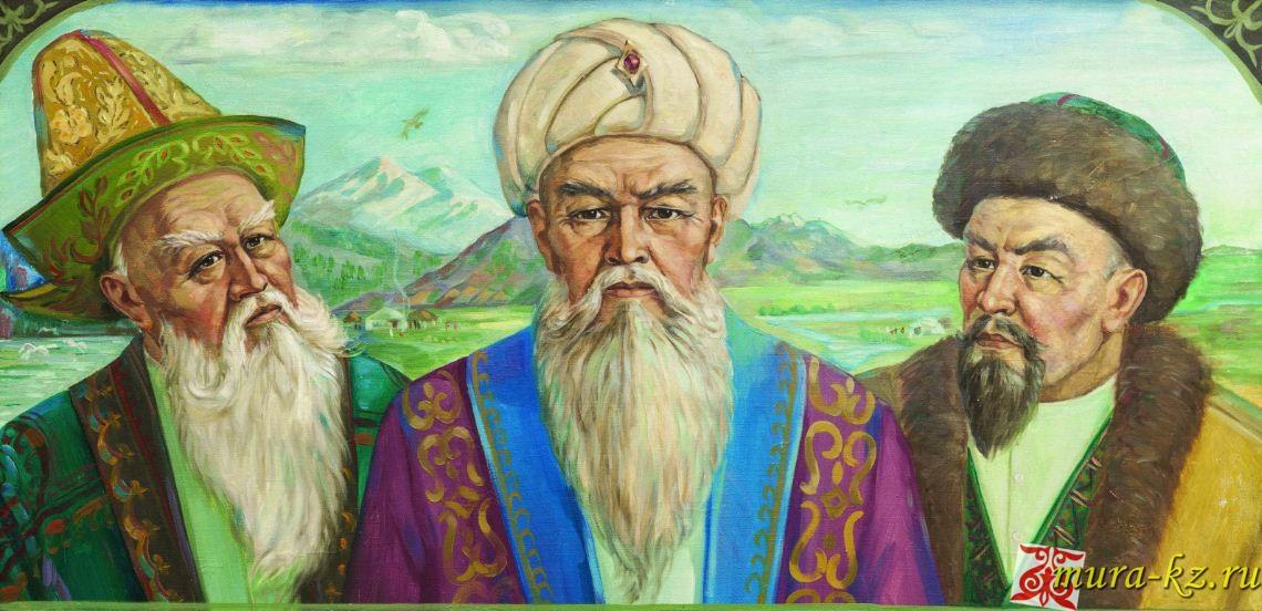 Үш ауыз ақыл сөз (сказки на казахском языке)
