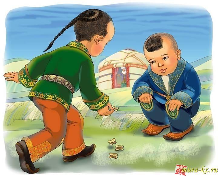 Үш жетім - Три сироты (сказки на казахском языке)