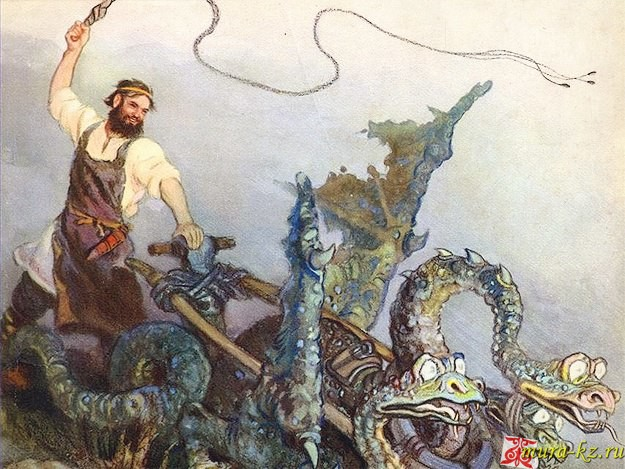 Никита Кожемяка - русские народные сказки на казахском языке