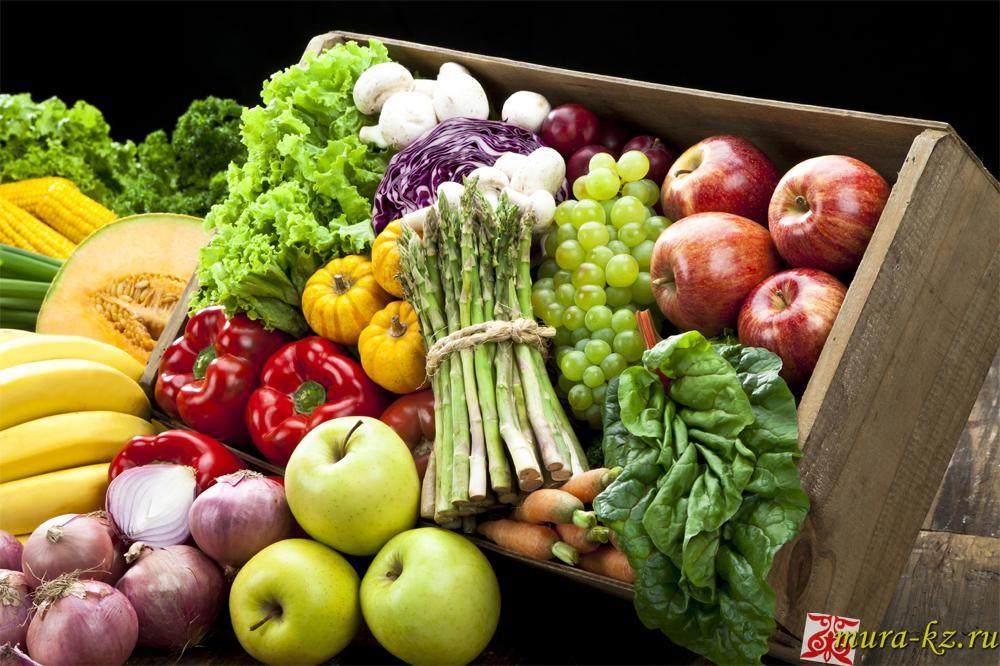 Загадкина казахском языке про сад, овощи, фрукты