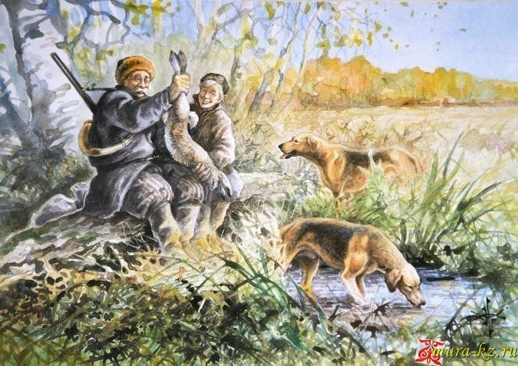 Жұмбақтар - загадки на казахском языке. Қару, аңшылық жабдық