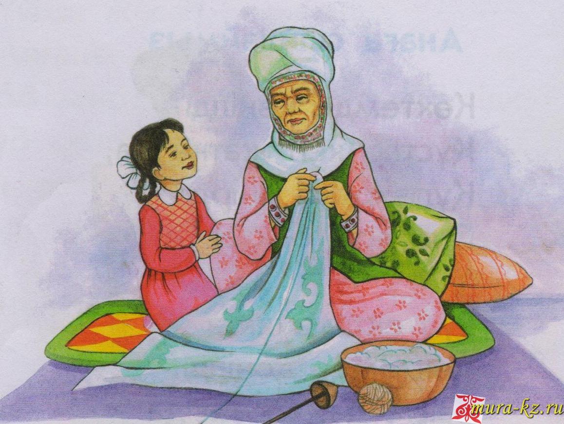 Құттықтау, тiлектер: Анаға, әжеге - маме, бабушке