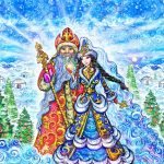 Құттықтау, тiлектер: Жаңа жыл — С Новым годом